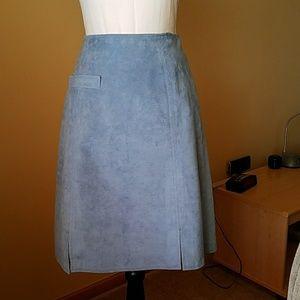Vintage ultra suede skirt